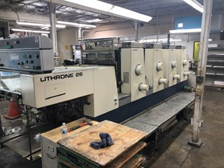 Komori L426 Sheet Fed