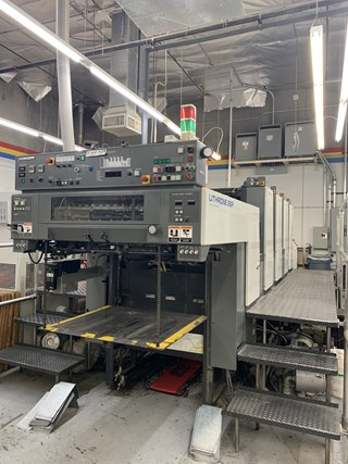 Komori Lithrone L428P - Series 45 Offset de pliegos