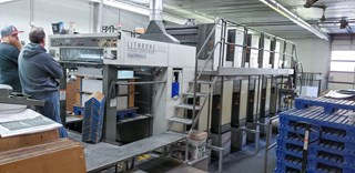 Komori L540SP - 5+5 Sheet Fed
