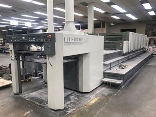 Komori LS640+CX - Series 45 Sheet Fed