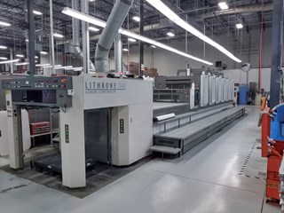 Komori LS 640+CX - Hybrid UV  Sheet Fed