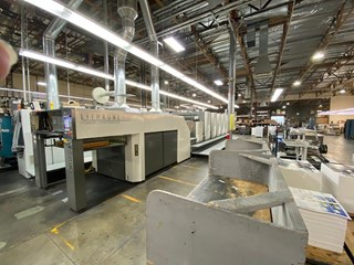 Komori GL 540+CX - H-UV  Sheet Fed