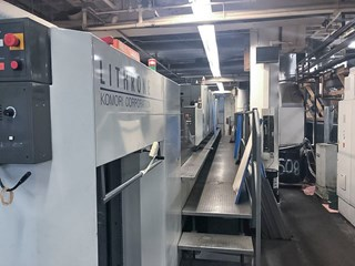 Komori LS640P+CX - Series 45 - Hybrid UV Sheet Fed