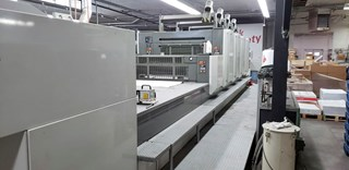 Komori LS440+CX - Fully Automated - Hybrid UV Offset de pliegos