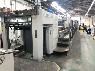Komori LS740P+CX - Hybrid UV Sheet Fed