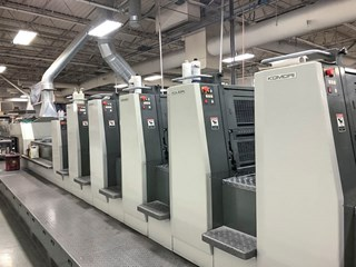 Komori LSX 629+CX - Series 45 Sheet Fed