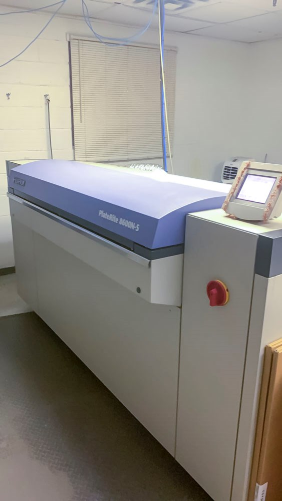 Show details for Fuji PTR 8600 S Thermal CTP