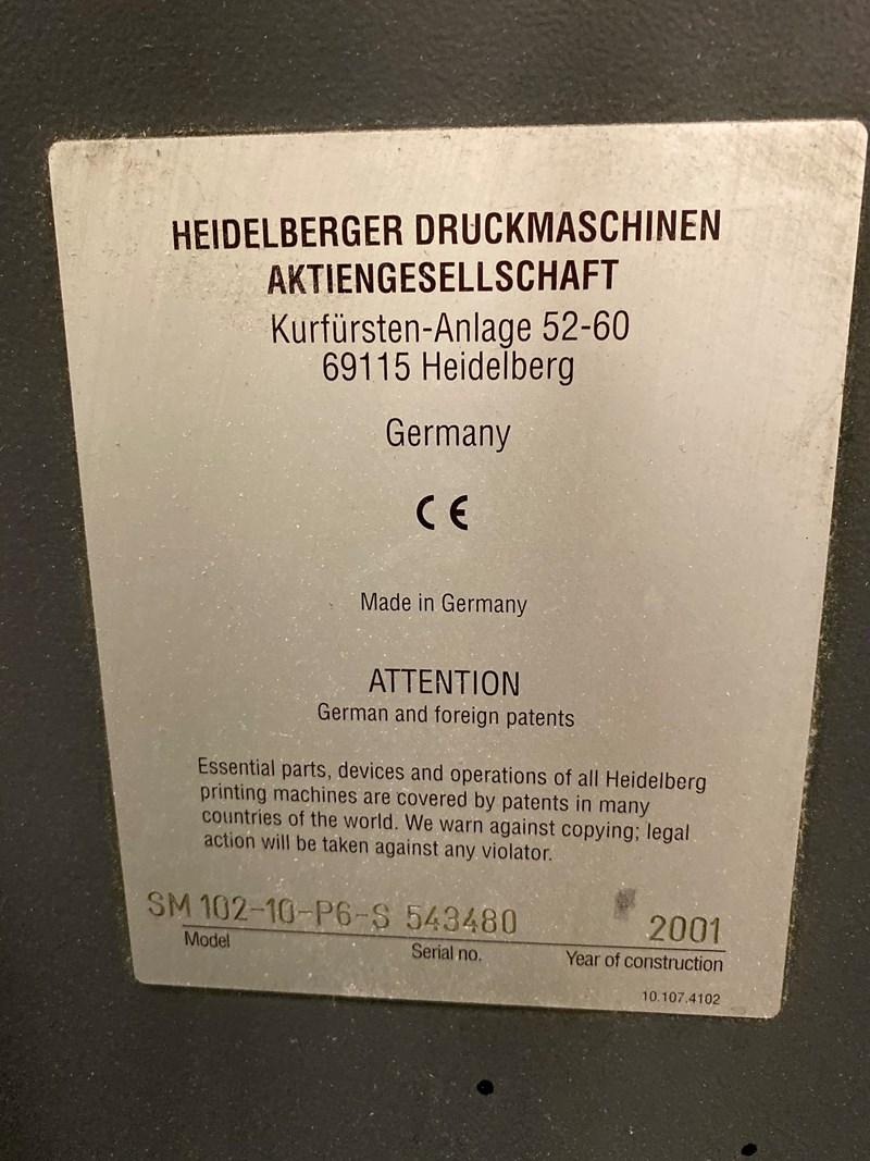 Heidelberg SM 102-10P