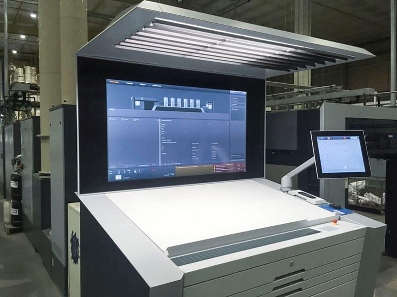Heidelberg XL 106-5+LX2 - LED UV - Push to Stop
