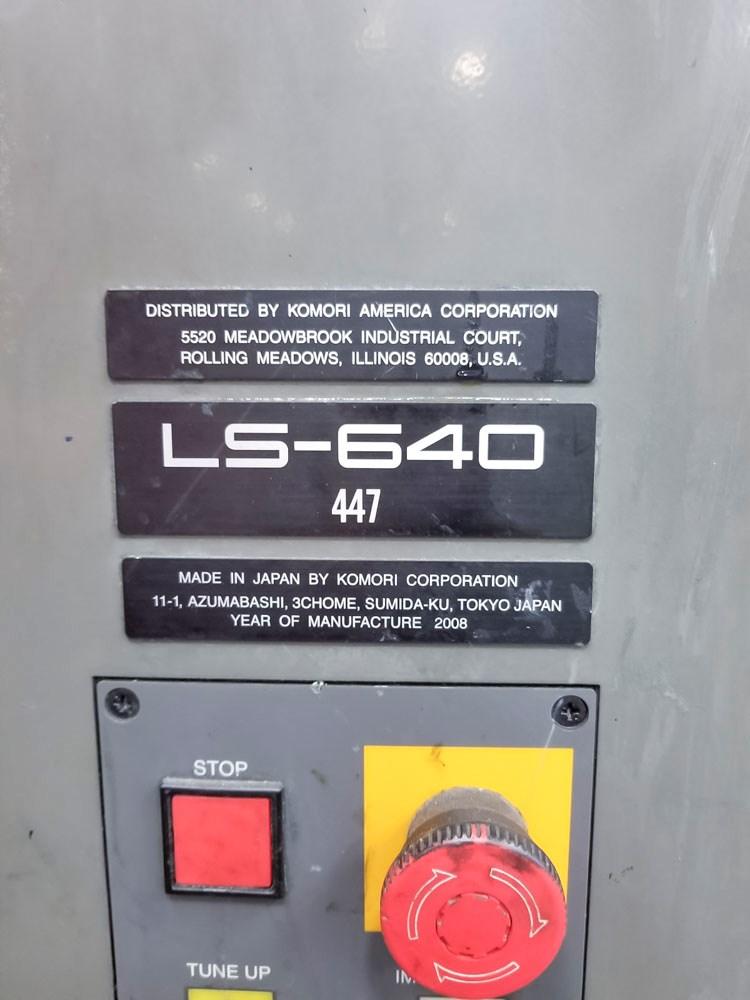 Komori LS 640+CX - Hybrid UV
