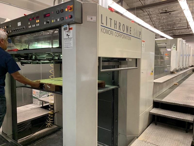 Komori LS 640P+CX - Series 45