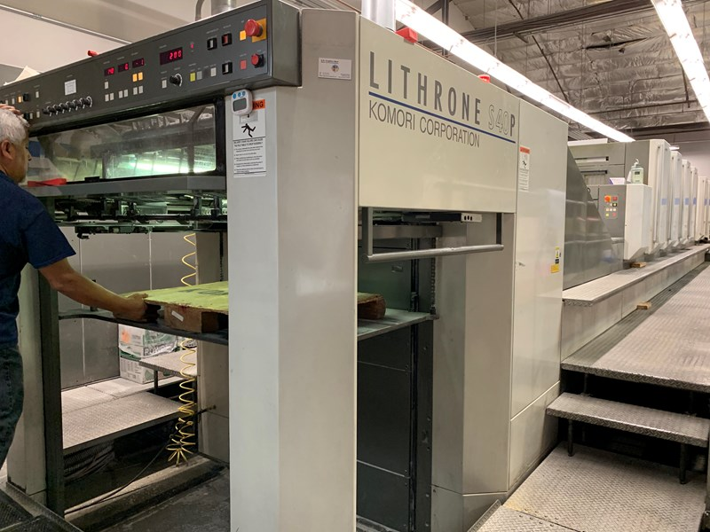 Show details for Komori LS640P+CX - Series 45