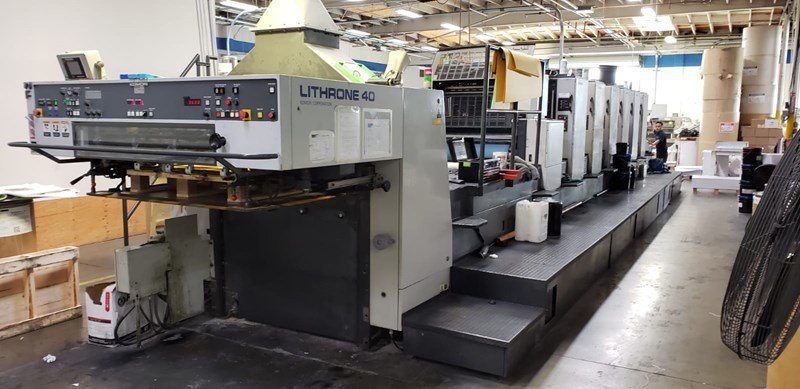 Show details for Komori L640+CX - Fully Automated