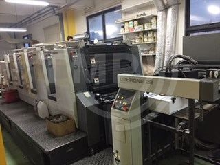 Komori LITHRONE L-428, price reduced for quick sales   Sheet Fed