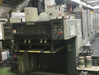 Komori LITHRONE NL-628                          Sheet Fed