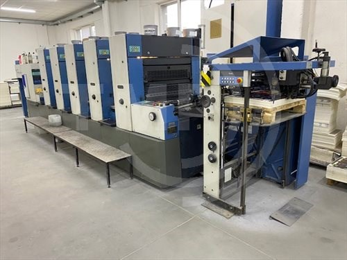KBA Rapida 74-5 for immediate sales