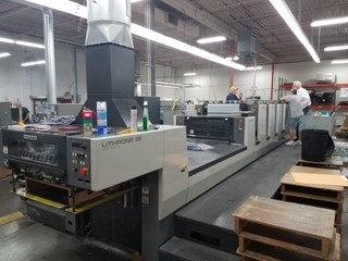 Komori Lithrone NL528+C Sheet Fed