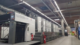 Komori GL840P w/ H-UV Sheet Fed
