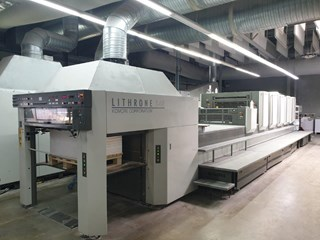 Komori LS540 + Coater Sheet Fed