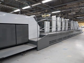 KOMORI GL840P + Coater Sheet Fed