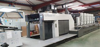 Komori GL540 + Coater 单张纸胶印机