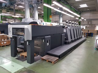 Heidelberg CD 74 - 5 + L X  -  2007 Sheet Fed