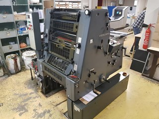 Heidelberg GTO 52 - 1996 Sheet Fed