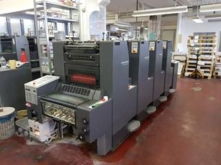 Heidelberg SM 52 – 4 - 1998 Gebrauchte Bogenoffsetmaschinen