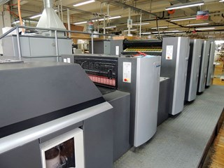 Heidelberg SM 74 - 4 H+L Sheet Fed