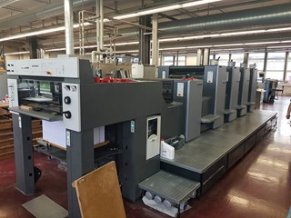 Heidelberg SM 74 - 4 P H + L - 2008 Sheet Fed