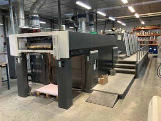 Heidelberg XL 105 - 4 + L X  -  2009 Machines offset à feuilles