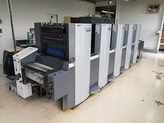 Heidelberg SX 52 - 5 +-  2016 ONLY 3 mio imp. !! Sheet Fed
