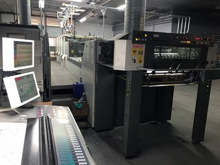 KOMORI LITHRONE LS 429 H + L X  -  2009 Offset de pliegos