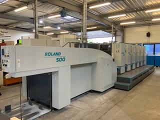 MAN ROLAND 505 L+V  -  2001 Machines offset à feuilles
