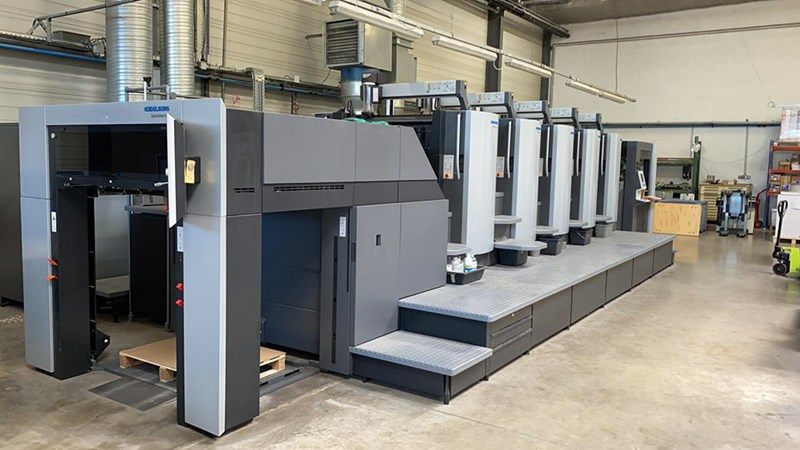 Show details for Heidelberg CX 102 - 5 LE-UV  - 2017