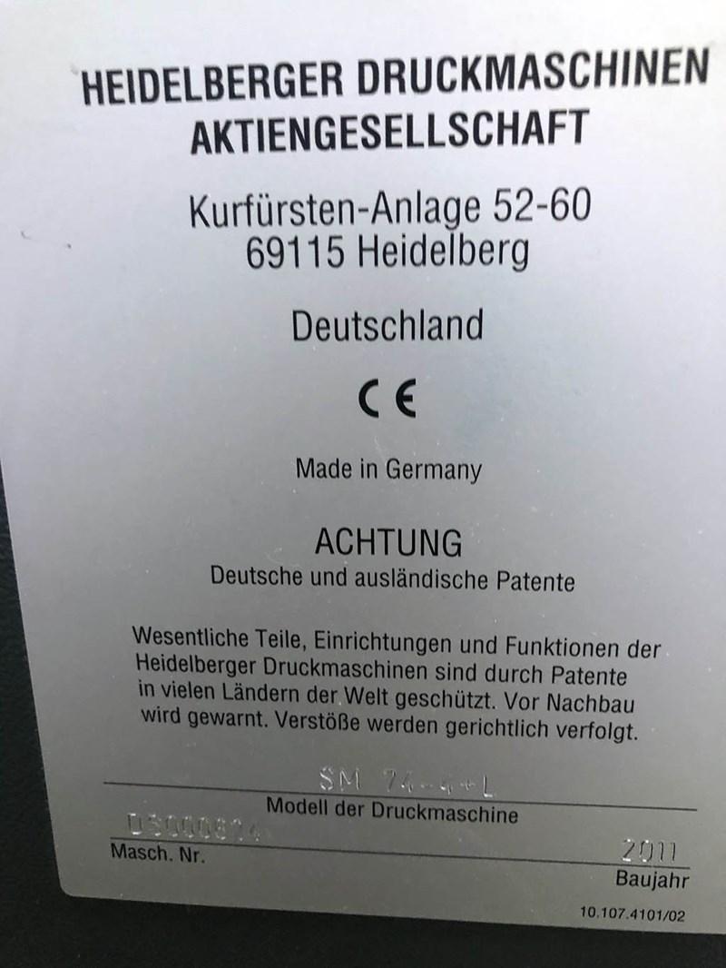 Heidelberg SM 74 - 4 H+L
