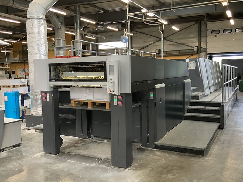 Show details for Heidelberg XL 105 - 4 + L X  -  2011