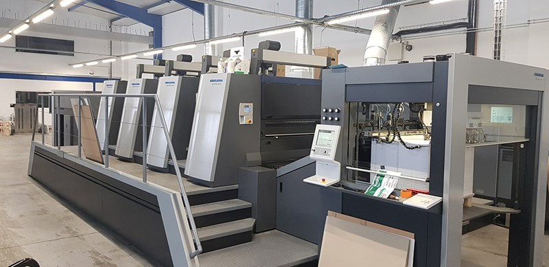 Show details for Heidelberg XL 106 – 4  LED UV -  2018