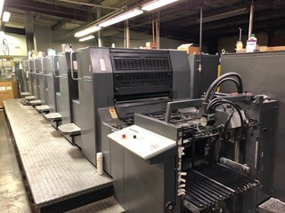 Heidelberg SM 74 6P3+L Sheet Fed