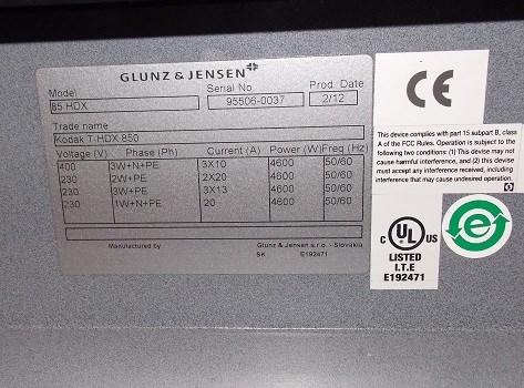 Glunz &  Jensen HDX85