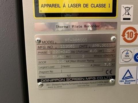 Screen/AGFA PT-R8600S/Avalon N8-22