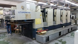 Komori Lithrone L440 Offset de pliegos