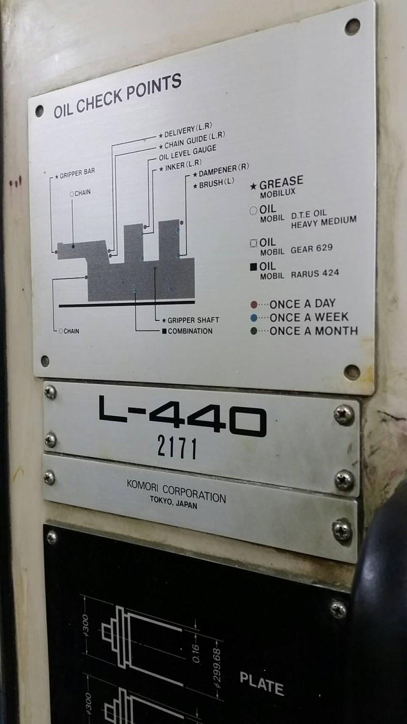 Komori Lithrone L440