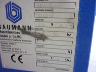 Bauman Jogger BSB 5L 1300 X 920 Schneidemaschinen
