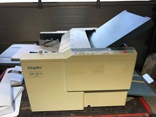 Duplo DF-915 Folder 折页机
