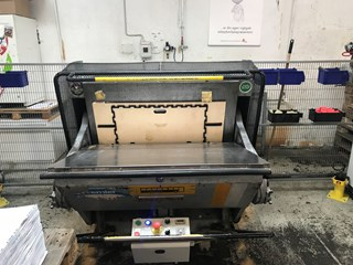 simplacutter 4 Diegel hand feed platten 1600 X 1100mm. Die Cutters - Automatic and Handfed