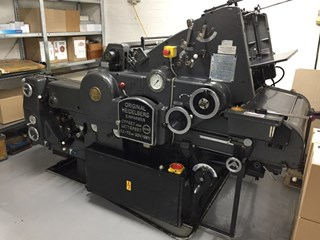 Heidelberg KORS Offset press 52 X 72 cm Sheet Fed