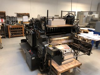 Heidelberg S-Cylinder 720 x 540 mm. Die Cutters - Automatic and Handfed