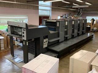 Heidelberg SM 74-5-P3 Sheet Fed