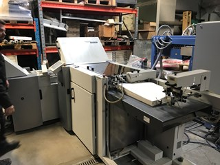 Heidelberg TA-52-4 + 4 Folding machines